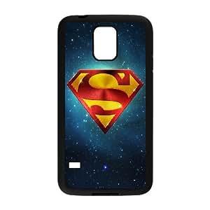 Superman & Galaxy Samsung Galaxy S5 Case, Samsung Galaxy S5 Case Protector With Design Yearinspace - Black