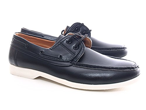 Herren Business Boot Schuhe Schwarz # 1403