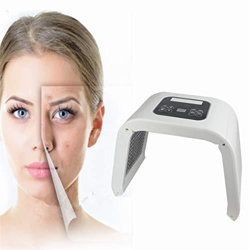 (Photon Therapy Machine,Fencia Skin Rejuvenation Machine 7 Color LED Light Photodynamic Facial Skin Improving Tool Wrinkle Acne Remover Device Skin Care Machine)
