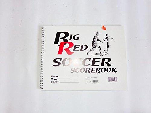 Big Red Soccer Scorebook -