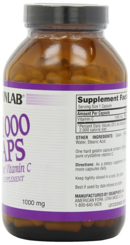 Twinlab C-1000 Caps, 1000mg, 250 Capsules (Pack of 2) by Twinlab (Image #3)