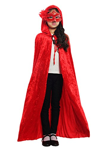 Halloween Party Festival Magic Cosplay Hooded Costume Cloak Cape Coat Shaw - Red Hood Cosplay Costume For Sale