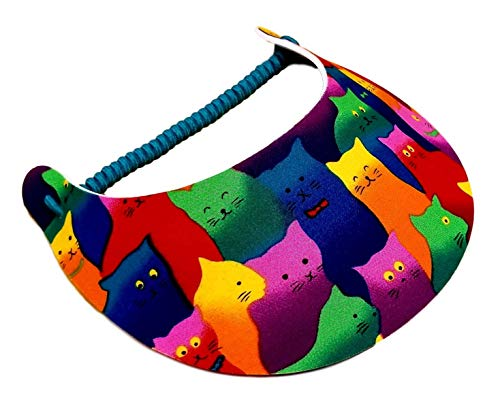 The Incredible Sunvisor Available in Beautiful Patterns Perfect for Summer! Made in The USA! (Cat 1)