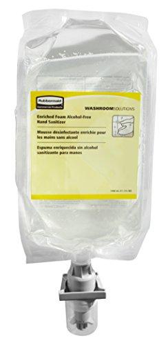 1100 Dispenser (Rubbermaid Commercial Enriched Foam Hand Sanitizer Refill, 1,100 ml, FG750593)