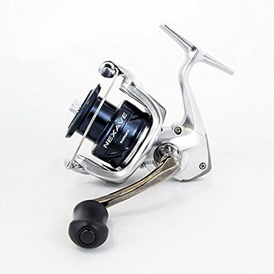 SHIMANO Nexave Spinning Fishing Reel, Model 2018