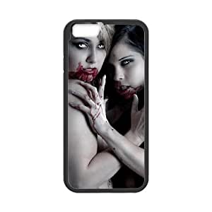 Zombie Art Series,iPhone 6 Case,Sexy Zombie Demon Girls Phone Case For iPhone 6[Black]