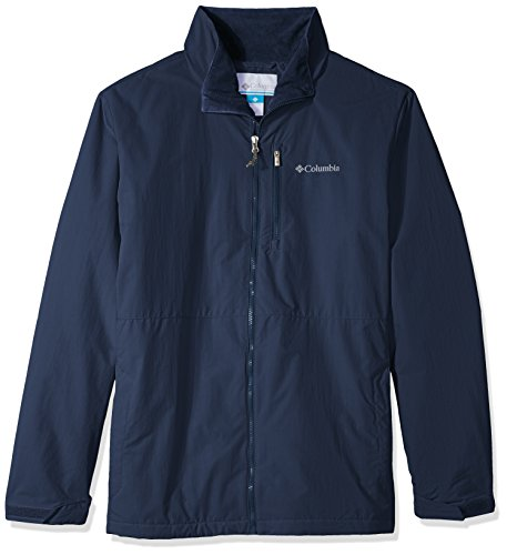 Columbia Men's Big and Tall Utilizer Jacket, Collegiate Navy, 4X (Jackets Tall Mens Big)
