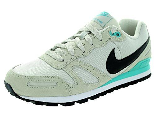 Nike Mens Air Waffle Trainer Light Bone/Black/Lt Rtr/White Training Shoe 9 Men US