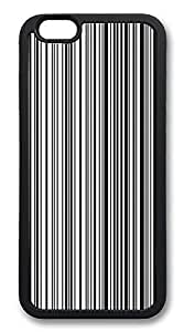 ACESR Barcode Best iPhone 6 Case TPU Back Cover Case for Apple iPhone 6 4.7inch Black