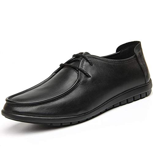 Formale Lavoro In Comodo Lavoro Uomo Da Scarpe Da Casual Scarpe Pelle Uomo 42 Da Eleganti Black Scarpe Aziendale v1qwZOAxq