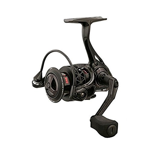 13 Fishing One 3 Creed GT 2000 Spinning Reel, Red