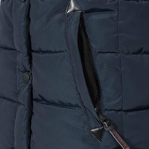 Donna Scuro Marikoo Blu Xs 6 xxl Invernale Sintetica Colori In Da Lotusblüte Cappuccio Giacca Con Pelliccia pF4Ap