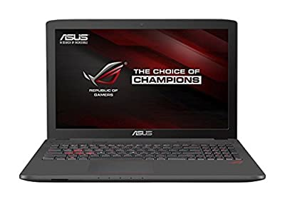 "Asus ROG GL752VW 17.3"" Gaming Laptop, 6th Generation Intel Core i7-6700HQ, 32GB DDR4 Memory, 256GB SSD + 2TB SATA Hard Drive, 2GB NVIDIA GeForce GTX 960M Graphics, Windows 10"