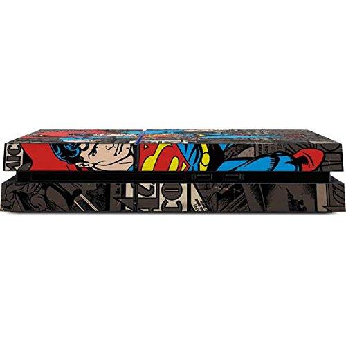 Superman PS4 Console Skin - Superman Mixed Media | DC Comics X Skinit Skin