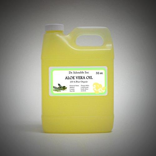 Aloe Vera Oil Pure Organic 32 Oz/2 Lb