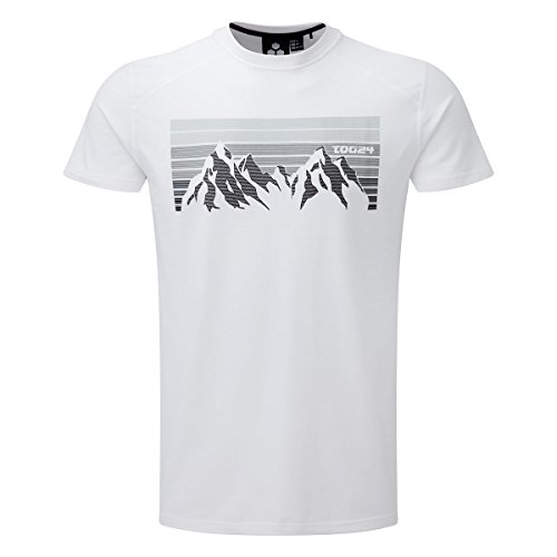 TOG 24 - Vital Tcz Cotton Herren T-Shirt - Farbverlauf Weiss - male