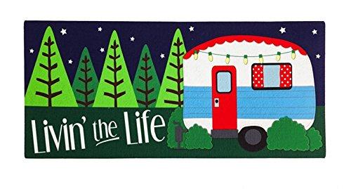 Evergreen Livin the Life Camper Sassafras Switch Mat
