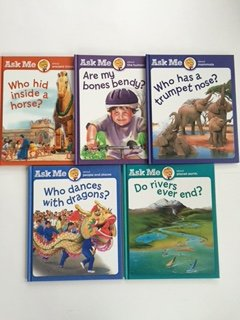 Ask Me (5 Book Set) Ancient Times, Human Body, Mammals, People-Places, Planet Earth
