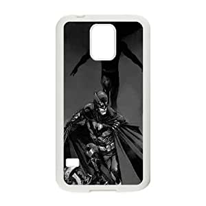 Awesome Batman Illustration Samsung Galaxy S5 Cell Phone Case White Protect your phone BVS_649425