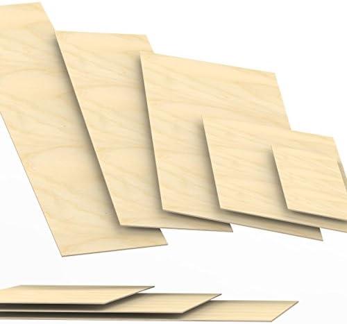 20x120 cm 5mm legno compensato pannelli multistrati tagliati fino a 150cm