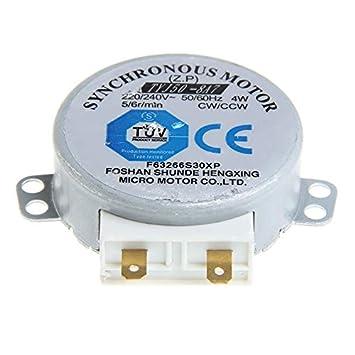 Motor de tocadiscos: horno microondas TYJ50-8A7 mesa giratoria con ...