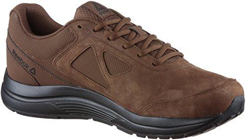 Reebok Walk Ultra 6 Dmxmax Rg 4e - Chaussures De Tennis, Homme, Marron - (brosse Marron / Noir)