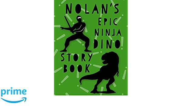 Epic Ninja Dino Story Book: A Large Notebook for Awesome ...