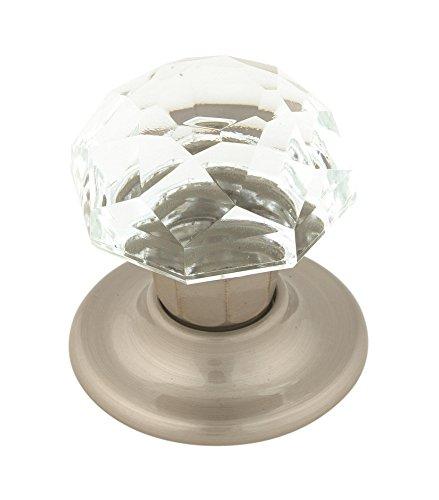 Crystal Amerock (Amerock E52472CSG Allison Value 2 in (51 mm) Diameter Clear/Satin Nickel Cabinet Knob)