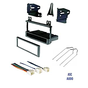 ASC Audio Car Stereo Dash Kit, Wire Harness, and Radio Tool to Install a Single Din Aftermarket Radio for select Ford Lincoln Mazda Mercury Vehicles - Compatible Vehicles Listed Below