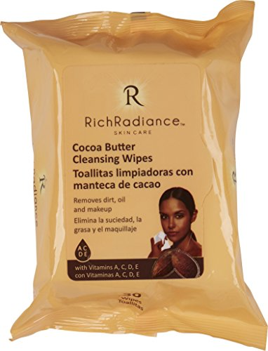 Rich Radiance - Cocoa Butter Cleansing Wipes (3 pack) ()