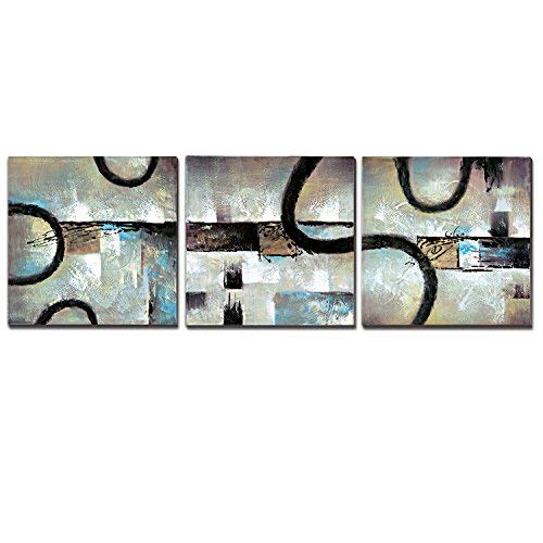 3Hdeko - Abstract Canvas Wall Art for Living Room Bedroom...