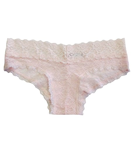 Undie Couture Lace Hipster Panties (8247) (Small/Medium (4-6), Heavenly Pink)
