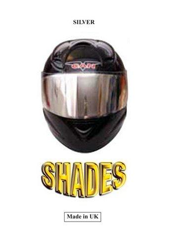 Argent/é Insert pour visi/ère pour casque de moto Shades