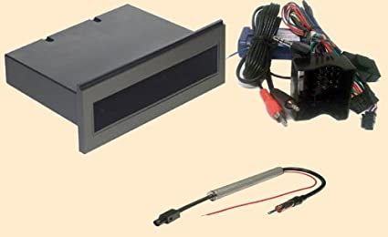 Amazon.com: Radio Stereo Install Dash Kit single din + ... on prius stereo harness, volkswagen stereo harness, honda stereo harness, mazda stereo harness, mustang stereo harness, camry stereo harness, toyota stereo harness, fusion stereo harness, pt cruiser stereo harness, boxster stereo harness, tacoma stereo harness,