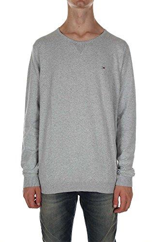 pull hiver Hilfiger Denim tamber f'15 cn sweater l/s gris