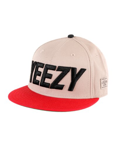 Cayler And Sons - Casquette Snapback Homme Yeezy - Beige / Red
