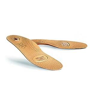 Amazon.com: Plantillas ortopédicas de piel con soporte para ...