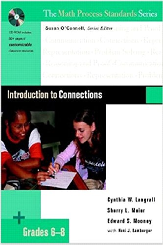Standards Series Math Process (Introduction to Connections, Grades 6-8 (Math Process Standards Series, Grades 6-8))