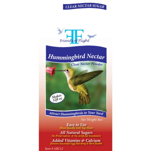 Friends Of Flight Haven 028951 Hummingbird Nectar Powder Sugar, Clear, 8-Ounce by Friends Of Flight