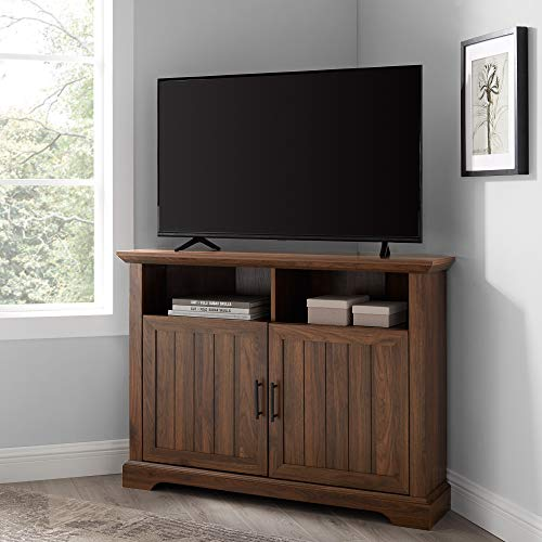 WE Furniture AZ44CMCR2DDW TV Stand, 44