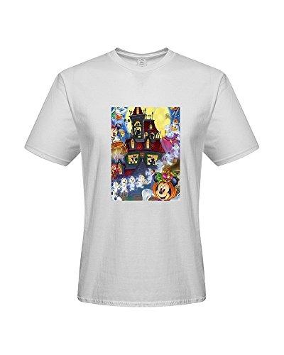 DIY T-Shirts,Men's 100% Cotton Short Sleeve T-Shirt (XX-Large)