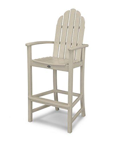 Trex Outdoor Furniture Cape Cod Adirondack Bar Chair in Sand Castle