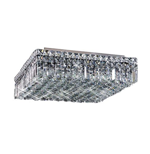 Maxim Square Ceiling Crystal Chandelier - Maxim Square Chandelier