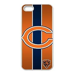 Chicago Bears Team Logo iPhone 4 4s Cell Phone Case White SVD_584138