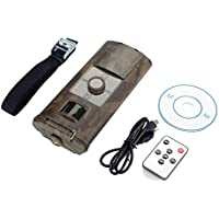 Trail Camera, 1080P HD Wildlife Game Camera Infrared Night Vision Hunting Camera Video Scouting Stealth Trail Cam