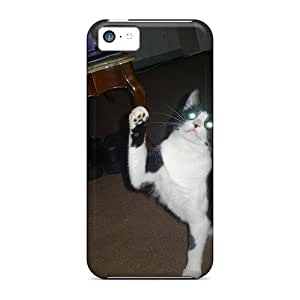 New Style Tpu 5c Protective Case Cover/ Iphone Case - My Cat Sock