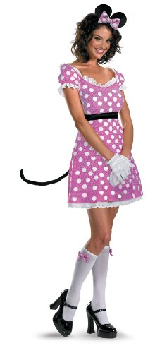 Minnie Mouse Sassy Costumes (DIS11409 (Large) Sassy Minnie Mouse Adult Costume)