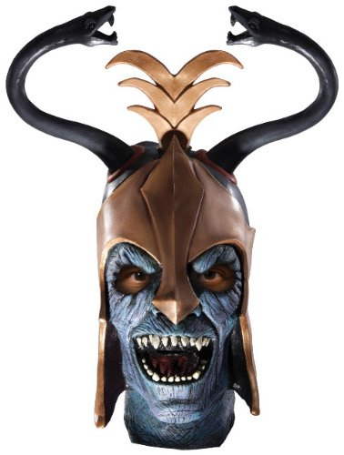 Mumm Ra Fancy Dress Costume (Thundercats Overhead Mask, Mumm-ra, Adult)