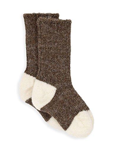 Warrior Alpaca Socks - Baby Alpaca Dye-Free Baby Color Block SocksNEW (12/12-24mos, ()