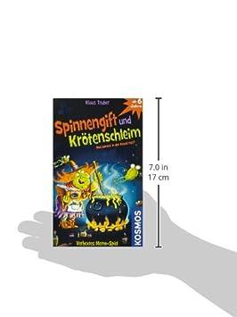 6e2157c48bf9b9 Kosmos 711160 - Spinnengift und Krötenschleim Mitbringspiel